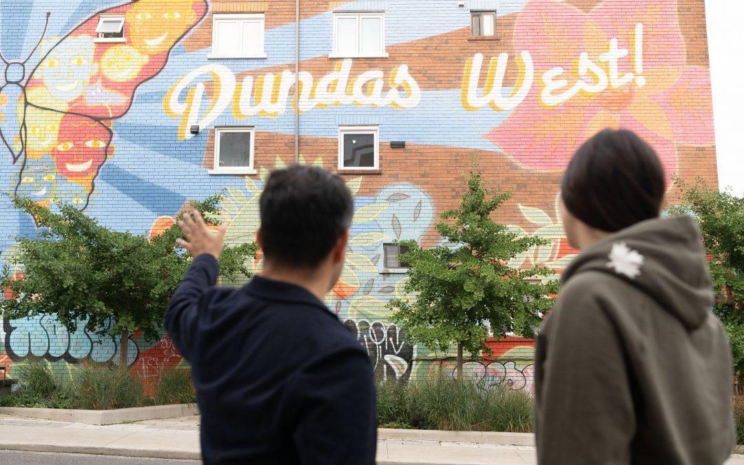 Dundas West creates Toronto's first open-air museum